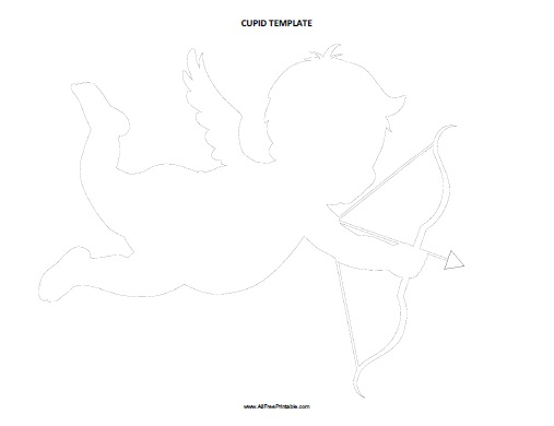 Free Printable Cupid Template