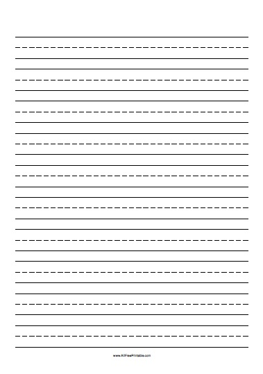 Free Printable Handwriting Paper