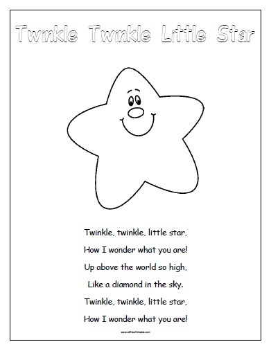 photo regarding Free Printable Nursery Rhymes identified as Nursery Rhymes - Free of charge Printable -