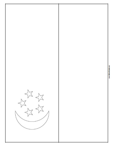 Free Printable Singapore Flag Coloring Page