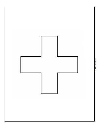 Free Printable Switzerland Flag Coloring Page