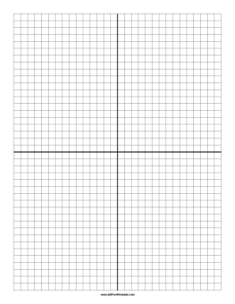 Free Printable Coordinate Paper