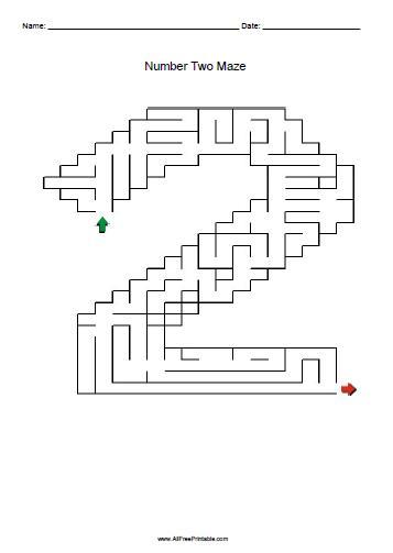 Free Printable Maze Puzzles