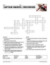 Printable Crossword