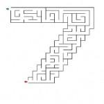 Number Seven Maze