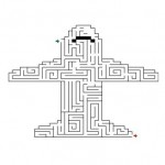 Plane Maze