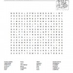 Seasons Word Search Puzzles