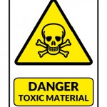 Danger Toxic Material Sign