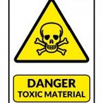 Danger Toxic Material Sign