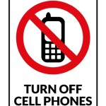 Turn Off Cell Phone Sign