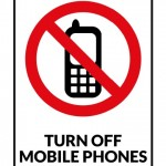 Turn Off Mobile Phone Sign