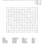 Bug Out Bag Word Search