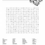 Love Word Search Puzzle
