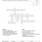 Memorial Day Crossword