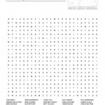 MLB Players Word Search
