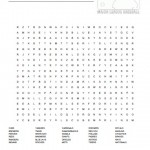 MLB Teams Word Search