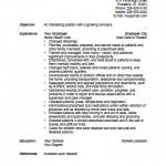 nursing aide resume samples   qisra my doctor says     resume    elementary teacher resume template printable