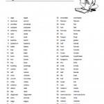 Singular and Plural List