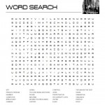 Person of Interest Word Search