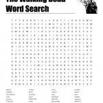 The Walking Dead Characters Word Search