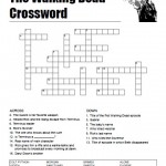 The Walking Dead Crossword