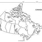 Canada Blank Map