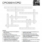 Person of Interest Crossword