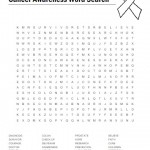 Cancer Awareness Word Search