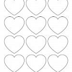Tricorn hat pattern free printable for Small heart template to print