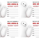 Big Hero 6 Birthday Invitations