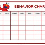 Elmo Behavior Chart