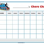 Thomas Tank Engine Chore Chart