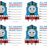 Thomas and Friends Birthday Invitations