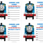 Thomas Tank Engine Birthday Invitations