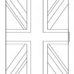 United Kingdom Flag Coloring Page