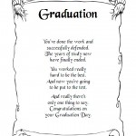 Graduation Day Poem