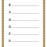 Summer Acrostic Poem Worksheet