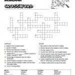 Alaska Crossword Puzzle