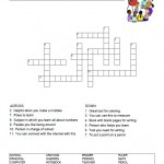 Back to School Crossword Puzzle