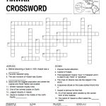 Hawaii Crossword Puzzle