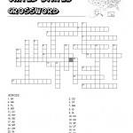 United States Crossword Puzzle