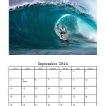 September 2016 Photo Calendar Template