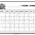 Star Wars Chore Chart