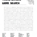 Transformers Word Search
