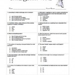 Bridal Shower Trivia Game