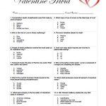 Valentine Trivia Game