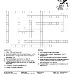 Presidents Day Crossword