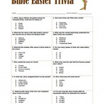 Bible Easter Trivia