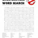 Ghostbusters Word Search