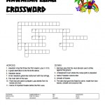 Hawaiian Luau Crossword Puzzle